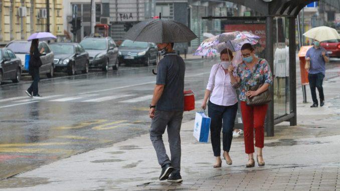 Danas oblačno povremeno sa kišom, temperatura do 23 stepena 5