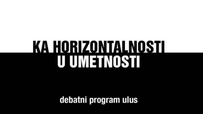 """Debata """"Mesto umetnika i umetnosti u društvenom kontekstu"""" u """"Cvijeti"""" 5"""