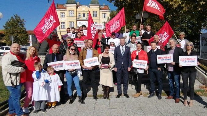 Dveri predstavile u Leskovcu proglas: Promene kreću sa juga 2