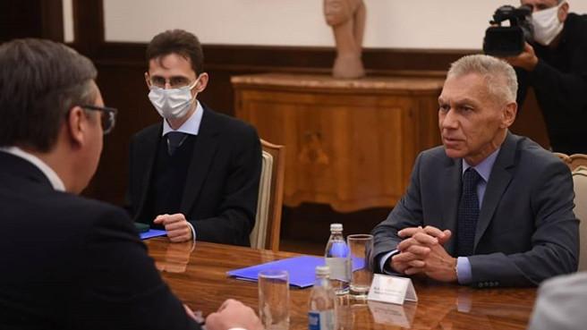 Vučić s ambasadorom Rusije o odnosima, saradnji i regionalnim pitanjima 4
