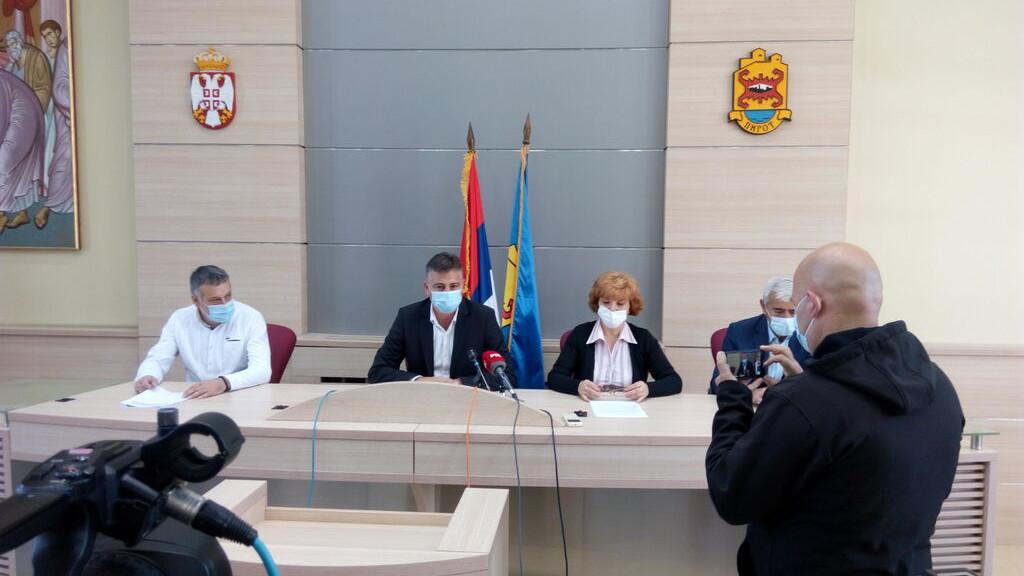 Gradski štab za vanredne situacije Pirota apelovao na striktno poštovanje mera 1