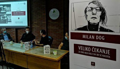 """Otvorena izložba ilustracija Milana Doga """"Veliko čekanje - za one koji vole da im se nacrta"""" 15"""