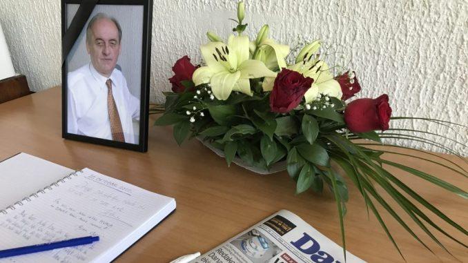 Komemoracija povodom smrti Dušana Mitrovića 27. oktobra u CZKD 2