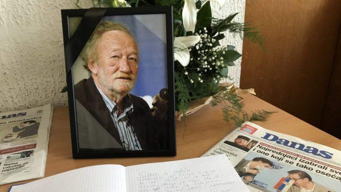 Komemoracija povodom smrti Grujice Spasovića 3. novembra u CZKD 4