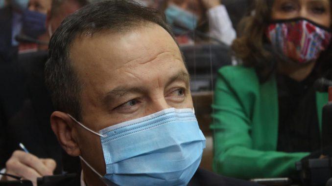 """Sa 225 glasova """"za"""" i jednim """"protiv"""" Dačić izabran za predsednika Skupštine 5"""