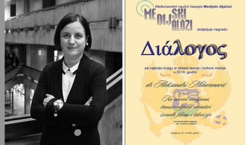 Aleksandra Milovanović dobitnica regionalne nagrade DIALOGOS 1