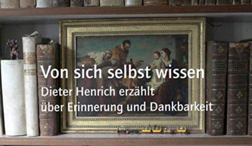Diter Henrih o sećanjima i zahvalnosti 2