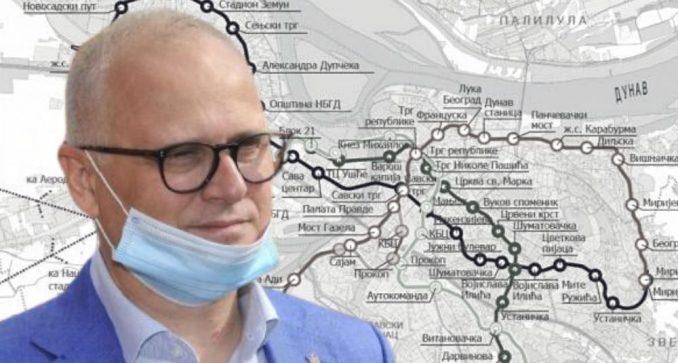 Vesić: Izgradnja metroa počinje u decembru 2021. godine 5