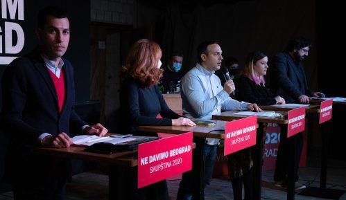 Ne davimo Beograd: Izjavom o Starom savskom mostu Šapić se preporučuje režimu 12