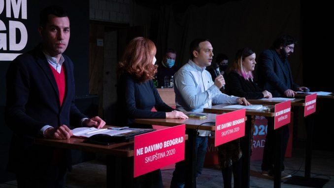 Ne davimo Beograd: Izjavom o Starom savskom mostu Šapić se preporučuje režimu 4