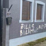 Stojković: Prekrečeni grafiti mržnje na kući Bulatovića, solidarnost protiv mržnje 2