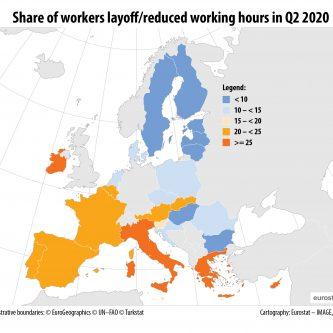 Radnici sa niskim primanjima u EU u većem riziku da ostanu bez posla 2