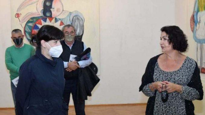 U Zaječaru otvorena izložba slika Selene Vicković 1