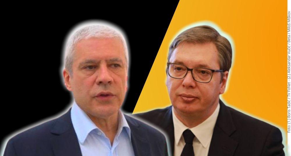 Šta je Vučić zamerao Tadiću, a kako on danas vlada? 3