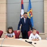 """Prijemom kod gradonačelnika počela """"Dečija nedelja"""" u Pirotu 2"""