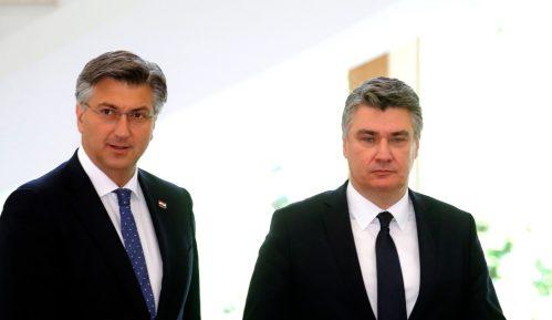 Nastavlja se verbalni sukob Milanovića i Plenkovića 6