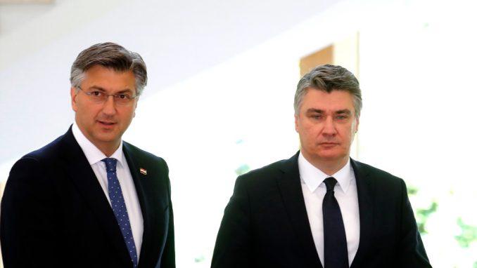 Nastavlja se verbalni sukob Milanovića i Plenkovića 1
