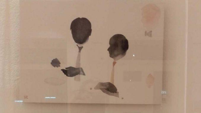 Izložba akvarela u Kulturnom centru Šabac 1
