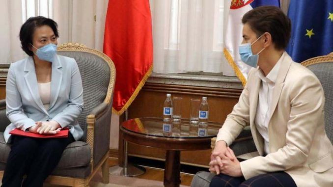 Kineska ambasadorka čestitala Ani Brnabić sastav nove vlade 3