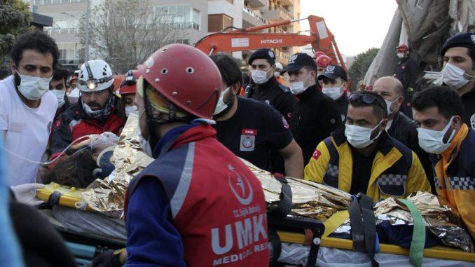Broj žrtava u zemljotresu u Turskoj i na grčkom ostrvu Samos porastao na 27 3