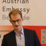 Ambasada Austrije u Beogradu: Oda Betovenu kroz svetlosne 3D instalacije 11