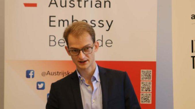 Ambasada Austrije u Beogradu: Oda Betovenu kroz svetlosne 3D instalacije 1