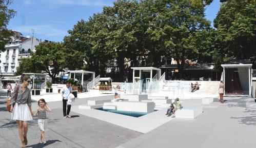 Počinje izgradnja fontane na platou kod Cvetnog trga 3