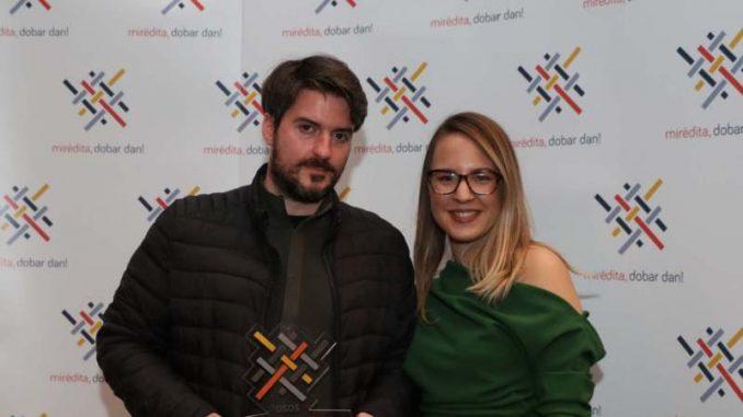 """Dodelom nagrade reditelju Ognjenu Glavoniću završen Festival """"Mirdita"""" 4"""