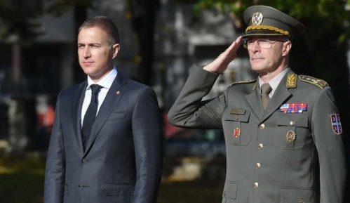 Stefanović prvi put kao ministar odbrane u poseti Generalštabu 14