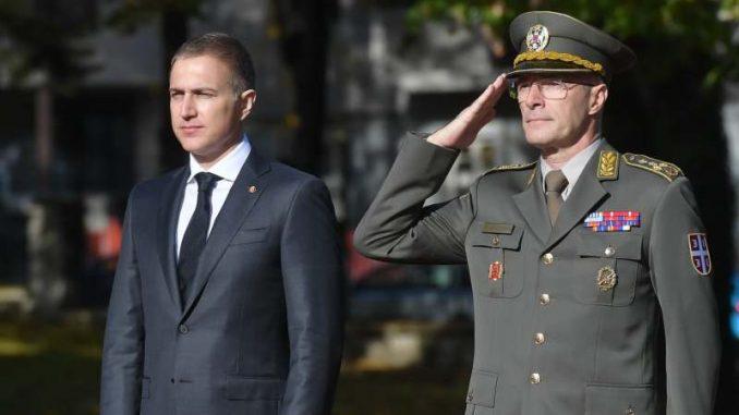 Stefanović prvi put kao ministar odbrane u poseti Generalštabu 3