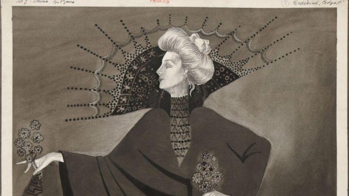 Izložba crteža Miodraga Tabačkog u Galeriji Haos 2