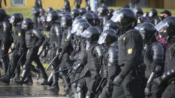 Belorusija: Policija koristi šok-bombe u razbijanju demonstracija 3