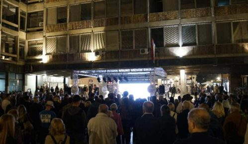 Prvo protestno okupljanje građana i članova Skupštine slobodne Srbije (VIDEO) 1