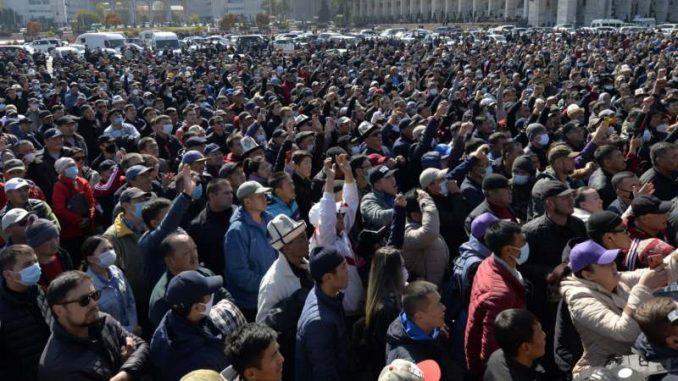 Predsednik Kirgizije proglasio vanredno stanje u glavnom gradu zbog protesta 5