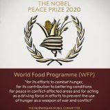Svetski program za hranu dobitnik ovogodišnje Nobelove nagrade za mir 9