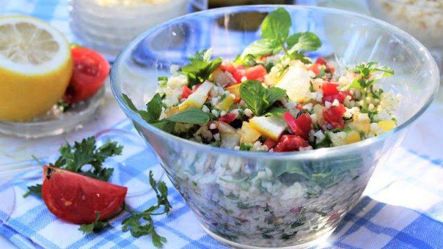 Recept nedelje: Tabule (tabbouleh) salata 4