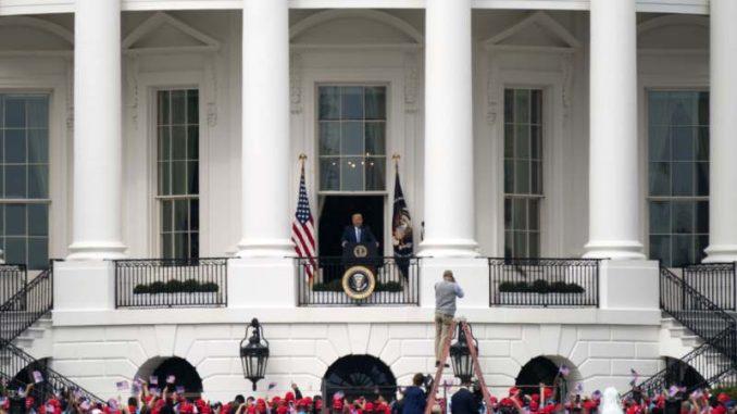 Tramp sa terase Bele kuće: Osećam se sjajno 4