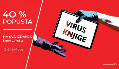 Virus knjige: Uštedite 40 odsto na sva izdanja Dan Grafa 2
