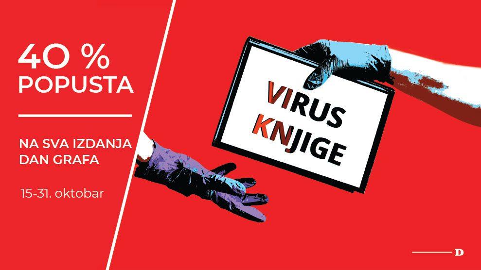 Virus knjige: Uštedite 40 odsto na sva izdanja Dan Grafa 1