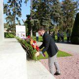 Položeni venci na Spomenik zahvalnosti Francuskoj 6