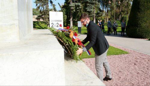 Položeni venci na Spomenik zahvalnosti Francuskoj 13