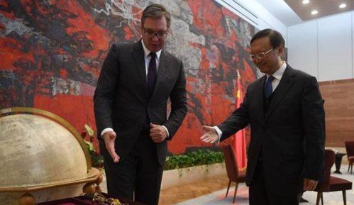 Vučić sa članom Politbiroa CK Kine: Srbija će nastaviti da gradi iskreno prijateljstvo s Kinom 6