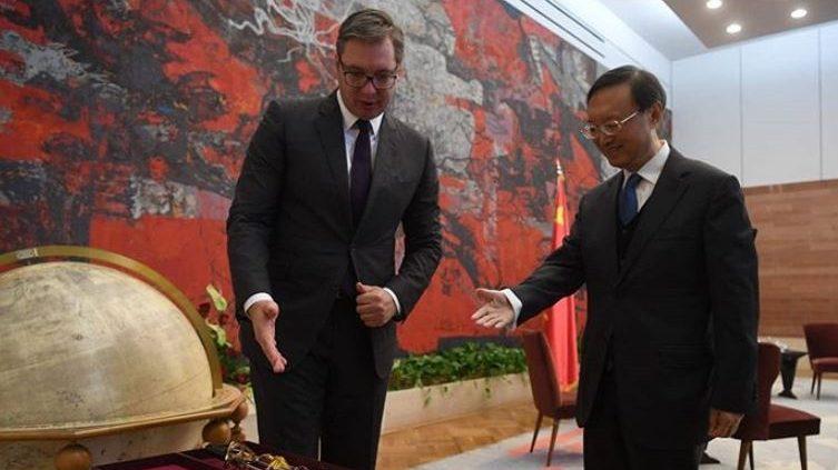 Vučić sa članom Politbiroa CK Kine: Srbija će nastaviti da gradi iskreno prijateljstvo s Kinom 1