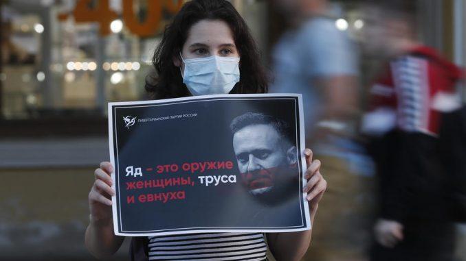 OPCW potvrdila da je supstanca tipa novičok bila u organizmu Navaljnog 4