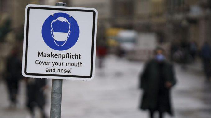 U Nemačkoj mere protiv epidemije korona virusa produžene do 10. januara 2