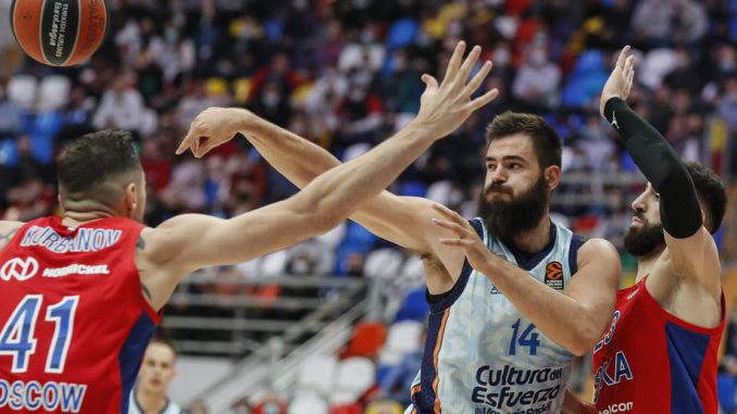 Evroliga: Pobede CSKA i Žalgirisa 3