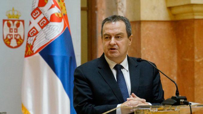 Dačić: Posle usvajanja budžeta, sa predstavnicima EP o međustranačkom dijalogu 2