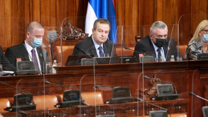 Dačić nije dozvolio zastavu Albanije u Skupštini Srbije 2