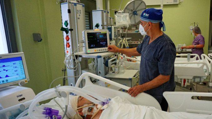U Kliničkom centru Niš 180 kovid pacijenata 4