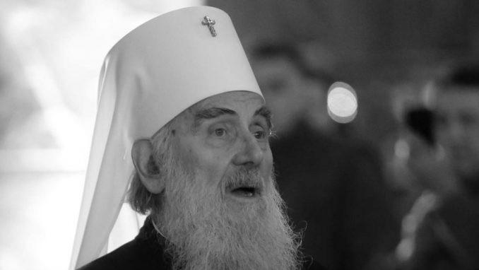 Preminuo patrijarh Irinej 1